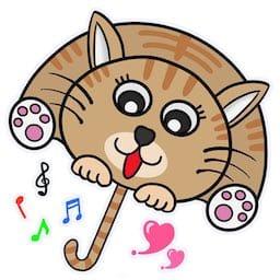 猫傘アバター